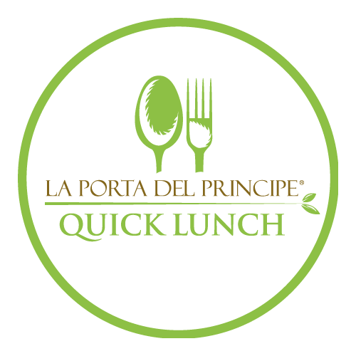 quick lunch delivery logo
